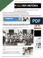 5. Primeiros cantos e autos da natividade no Brasil, T. Brandão (Texto)