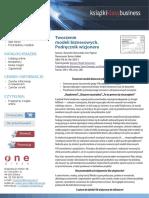 Osterwalde i Pinegour - Tworzenie modeli biznesowych - spoko prezentacja