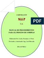Manual de Procedimientos M&P