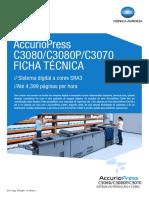 AccurioPress C3070 C3080 P Ficha Tecnica HD