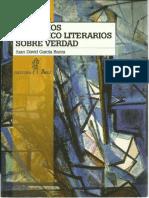 García Bacca. Tres Ejercicios Literario-filosóficos Sobre Verdad. Los Libros de El Nacional 2003 (1)