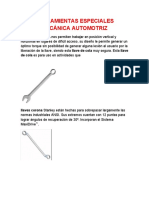 herramientas de MEcanica