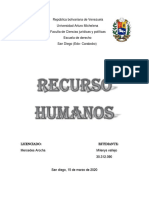 República recursos humanos