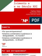 Aula 1 - Crescimento Econômico, Pobreza e Desigualdade - Carlos Góes