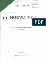 Uriel García - Nuevo indio
