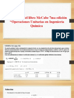 Problemas del libro McCabe 7ma edición  y Foust