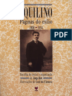 Aquilino Ribeiro - Páginas do Exílio - Volume 1-Vega