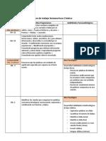 Plan de trabajo lectoescritura 2 básico