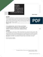 Colaboradores, Boicoteadores y Riesgos Aproximación Teórica Al Impacto Del Conflicto Armado en La Movilización Social