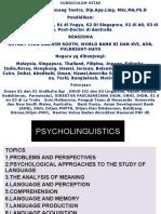 Psycholinguistics Yang Benar