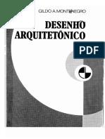 Livro - Desenho Arquitetonico - Gildo Montenegro