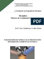 2º Class - Eng Design & Op Parameters