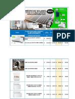 Lista de precios Codensolar Electrodometicos OCTUBRE  2020