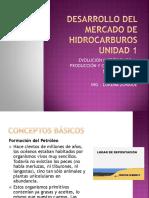 Desarrollo del mercado de hidrocarburos