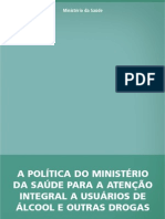 politica nacional de alcool e drogas