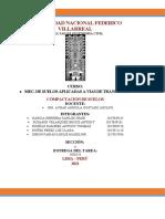 INFORME COMPACTACION DE SUELOS