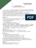 Série 1  2016-2017 solution