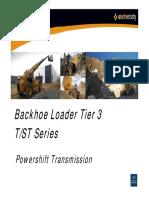 Case Construction Backhoe Loader Tier3