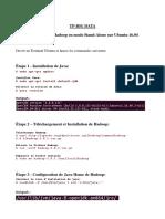 Installation et configuration de Hadoop