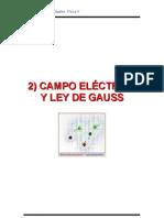 Cap 2 Campo Eléctrico Y Ley De Gauss