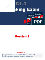 SAMPLE Speaking Exam C1-1 (1)