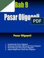 9. PASAR OLIGOPOLI
