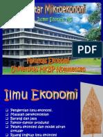 1. ILMU EKONOMI
