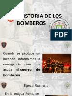HISTORIA DE LOS BOMBEROS