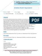 Administration-Oracle-11g-avancée
