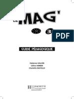 Le Mag 3 Guide Du Prof
