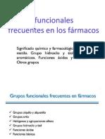 Grupos Funcionales Frecuentes en Farmacos