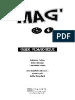 le mag 4 guide du prof