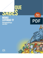 Português 9º ano - Novas Leituras 9 - Prova que sabes