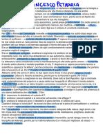 letteratura italiana- Francesco Petrarca