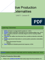 unit 5 - lesson 8 - positive production externalities