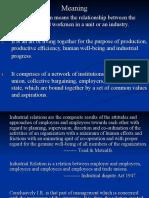 industrial relation