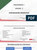 Unidad 2 Tecnicas de Comunicacion Terapeutica (1)