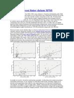 Analisis Regresi Linier Dalam SPSS
