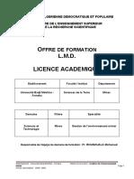 Licence Gestion Environnement