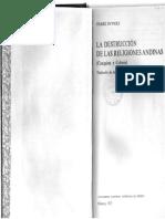 DUVIOLS, Pierre. 1977. La Destrucción de Las Religiones Andinas (Conquista y Colonia)