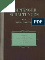 04 - 1953 - Empfanger Schaltungen der Radio-Industrie - IV