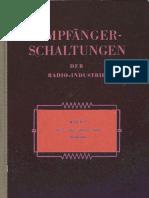 01 - 1953 - Empfanger Schaltungen Der Radio-Industrie - І