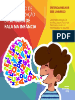 Cartilha Apraxia de Fala Na Infância 1 1