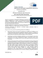 Comitetul Parlamentar de Asociere UE-Republica Moldova a convenit asupra declarației finale și a recomandărilor