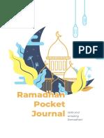 Ramadhan Pocket Journal 2021
