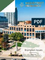 Brampton Report March 2021