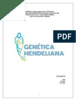 GENÉTICA MENDELIANA (MARIELYS-TRABAJO)
