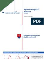 Epidemiologická situácia na Slovensku (23. 3. 2021)