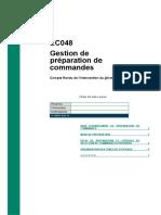 EC048 - Gestion de prépraration de commandes