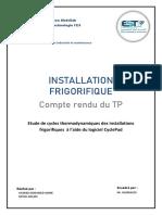 Tp Installation Frigorifique